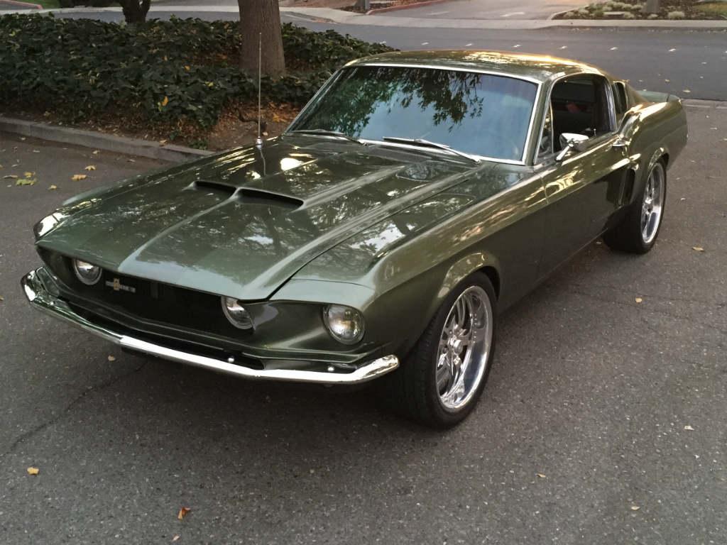 67 Mustang GT500 4