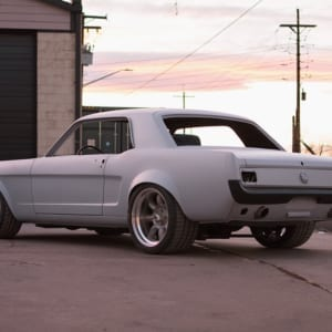 kyle's 66 mustang coupe